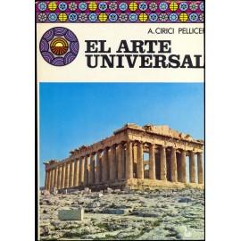 EL ARTE UNIVERSAL. CIRICI PELLICER, Alexandre