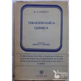 TERMODINÁMICA QUÍMICA.  D. H. EVERETT