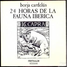 24 HORAS DE LA FAUNA IBÉRICA. CARDELÚS, Borja.