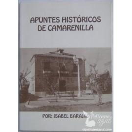APUNTES HISTÓRICOS DE CAMARENILLA. BARAJAS, Isabel
