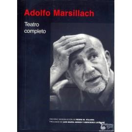 TEATRO COMPLETO.  MARSILLACH, Adolfo